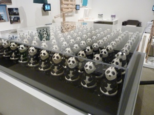 Photo of the exhibition at the Design Museum